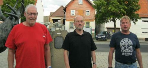 v.l. Ingo Schwalm, Udo Seiler, Norbert Langer
